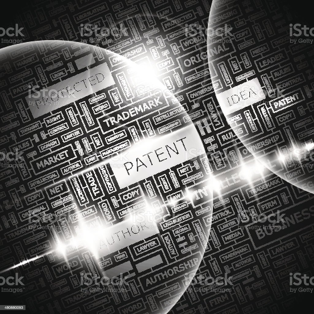 PATENT vector art illustration