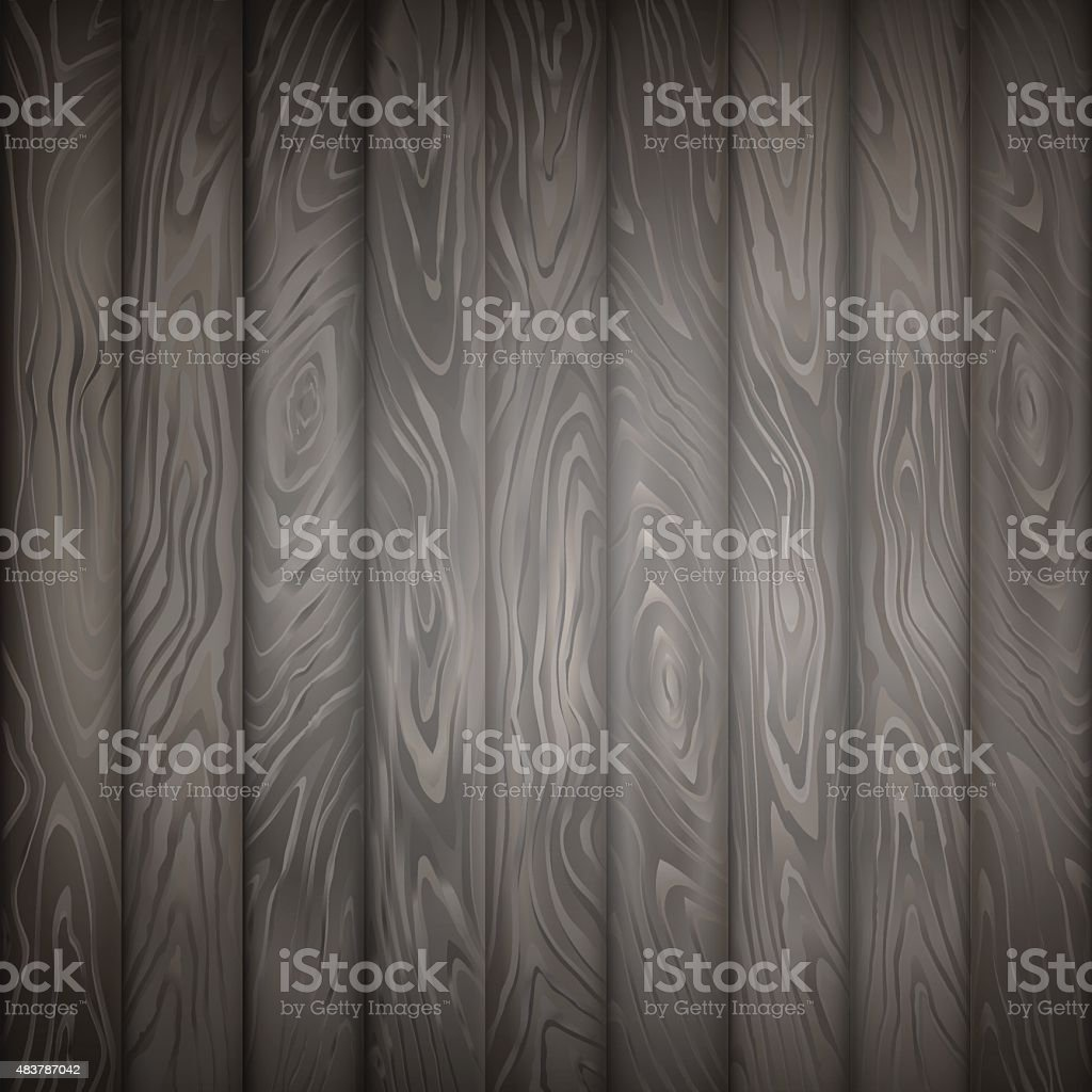 WOOD TEXTURE GREY VERTICAL BACKGROUND vector art illustration