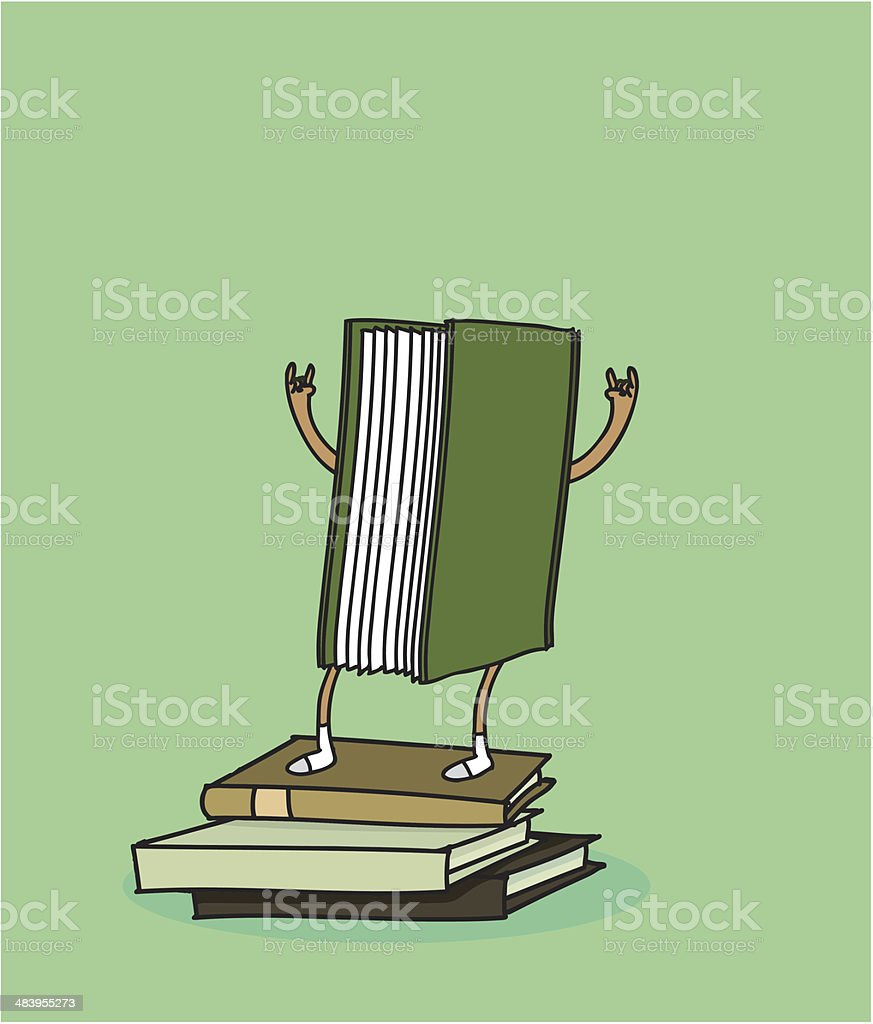 -READING RULES! royalty-free stock vector art