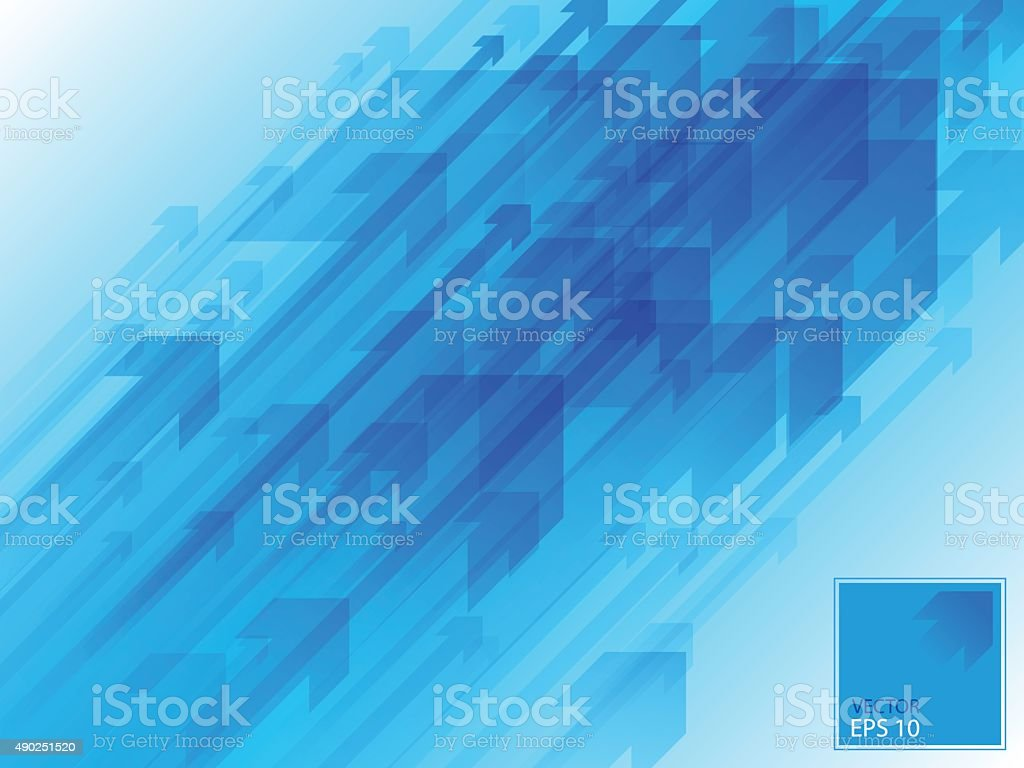 CYAN ARROWS BACKGROUND 04 vector art illustration