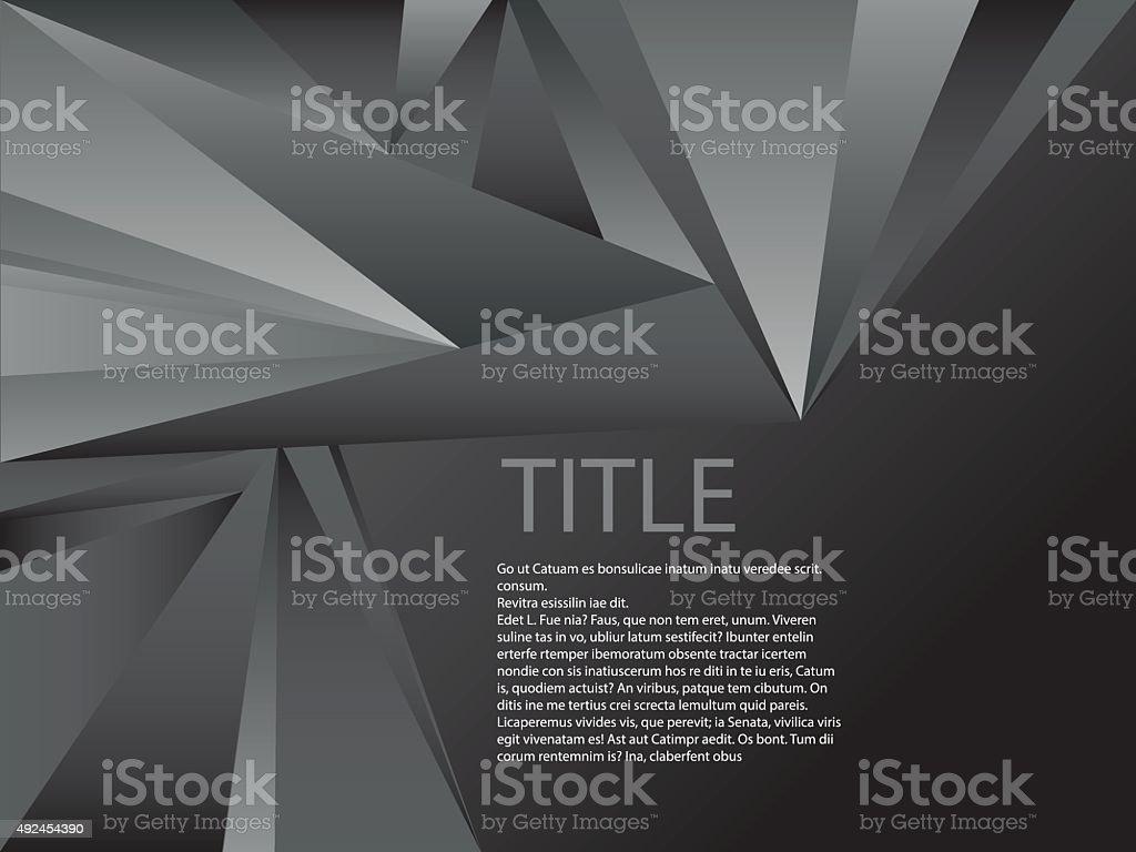 BLACK DIAMOND vector art illustration