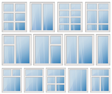 Window clip art vector images illustrations istock for Window design clipart