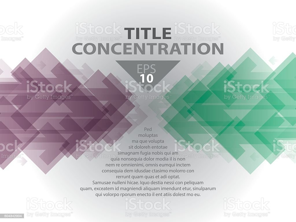 CONCENTRATION 06 vector art illustration