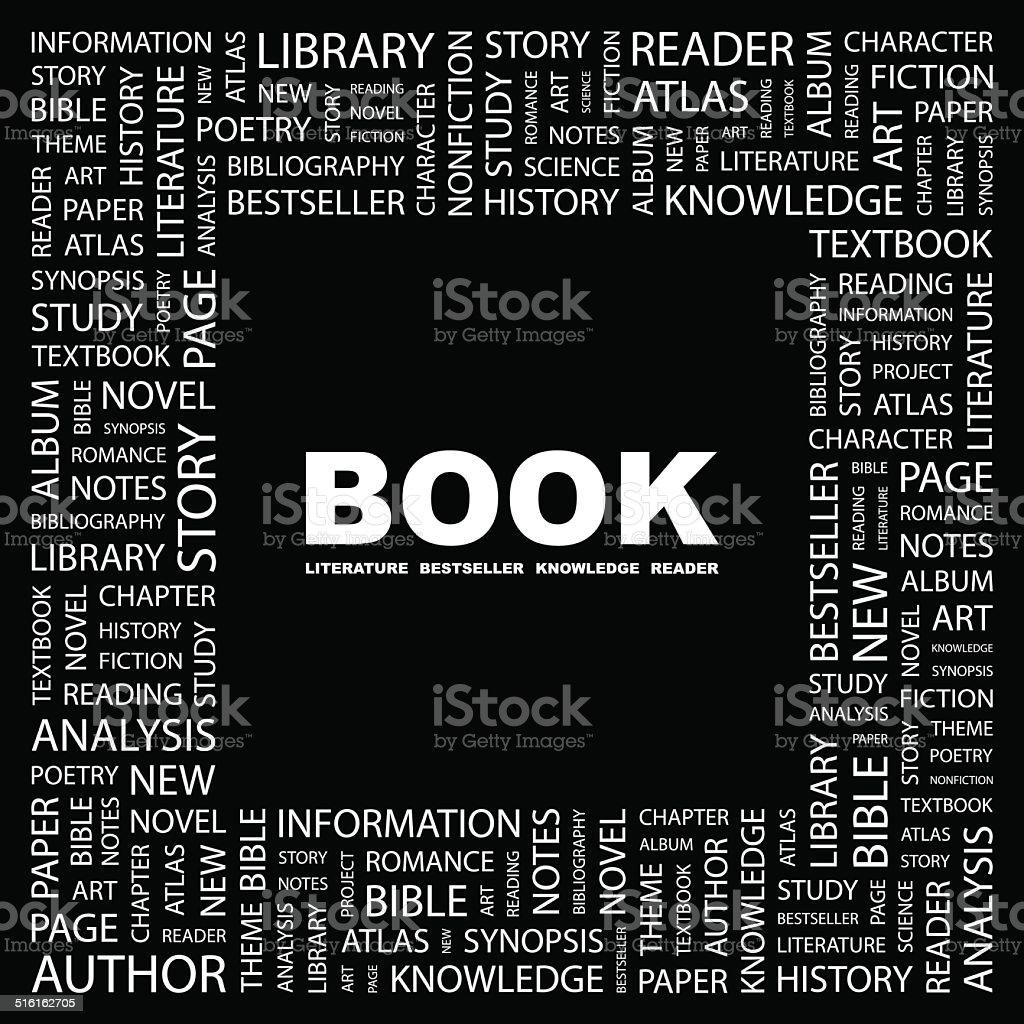 BOOK. vector art illustration