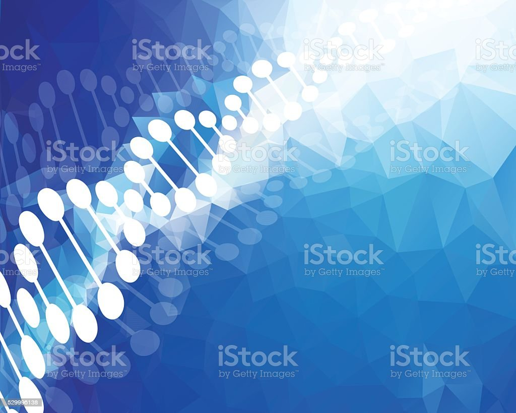 DNA vector art illustration