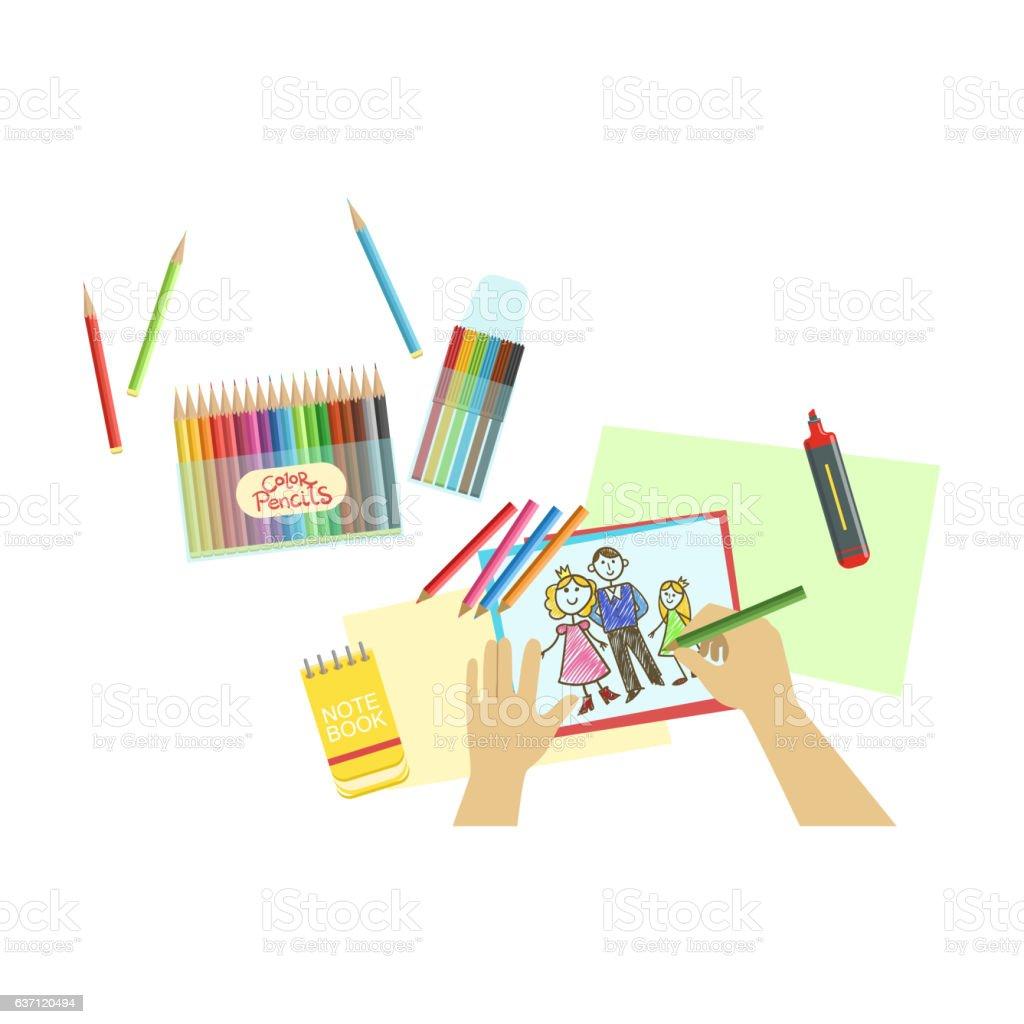 Для Интернета vector art illustration