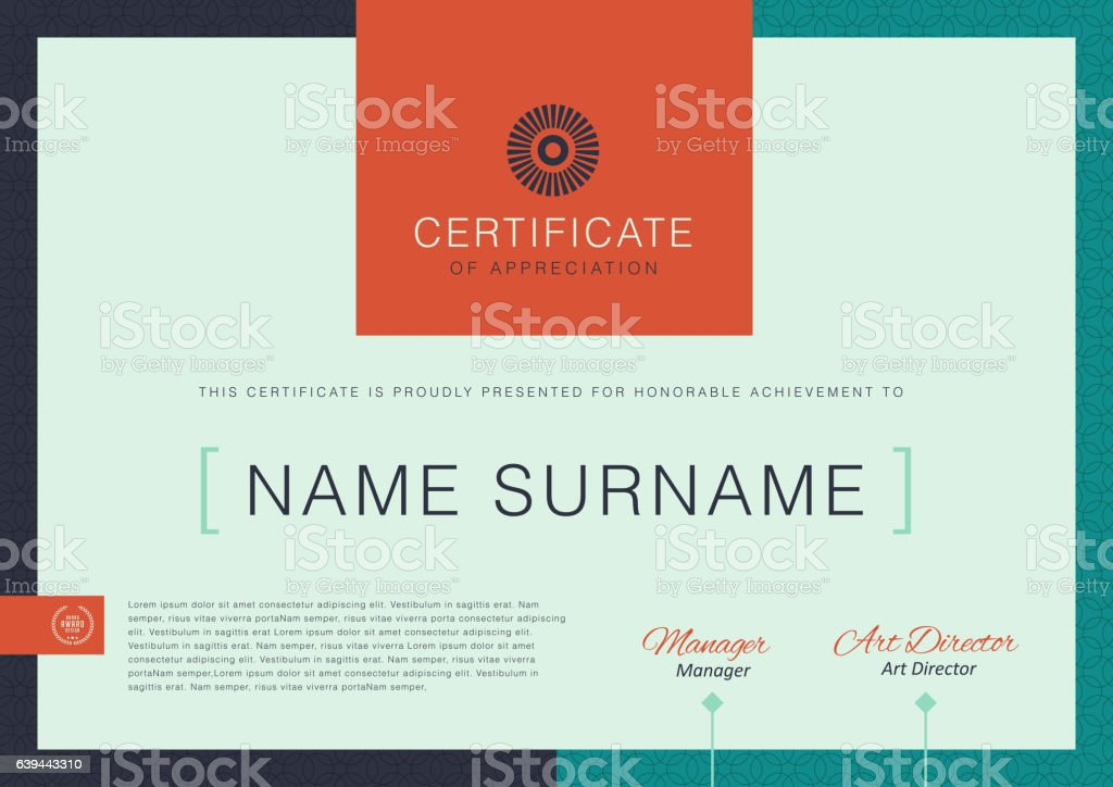 CERTIFICATE 362 royalty-free stock vector art
