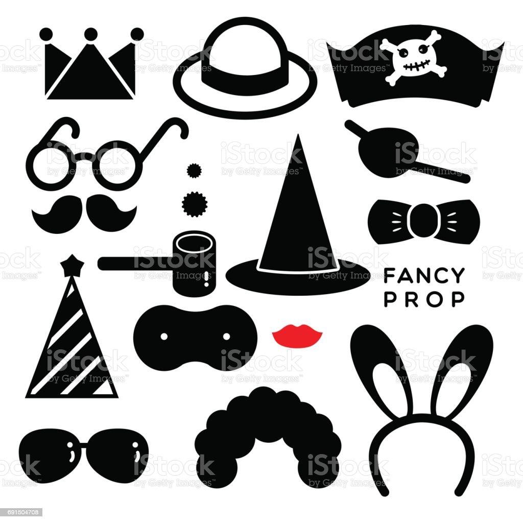 FANCY PROP vector art illustration