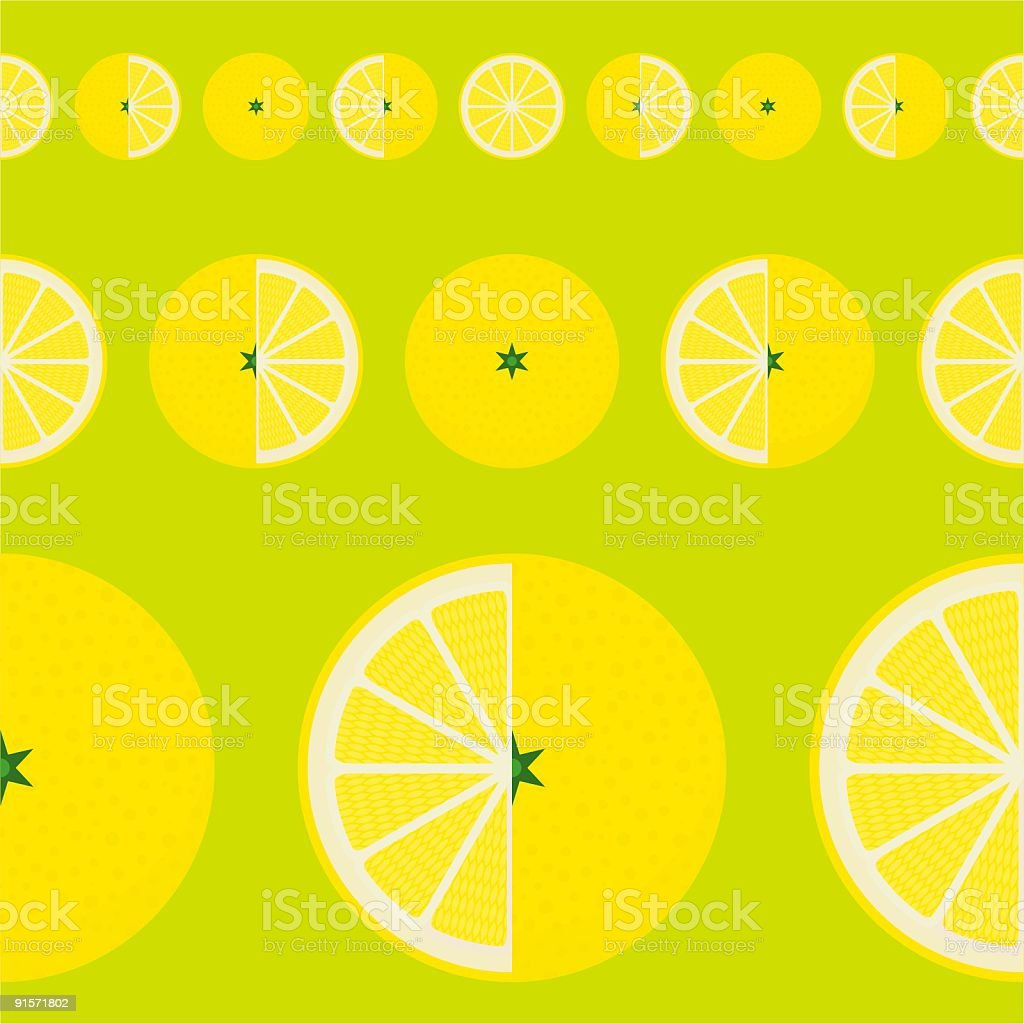 LEMON PATTERN royalty-free stock vector art