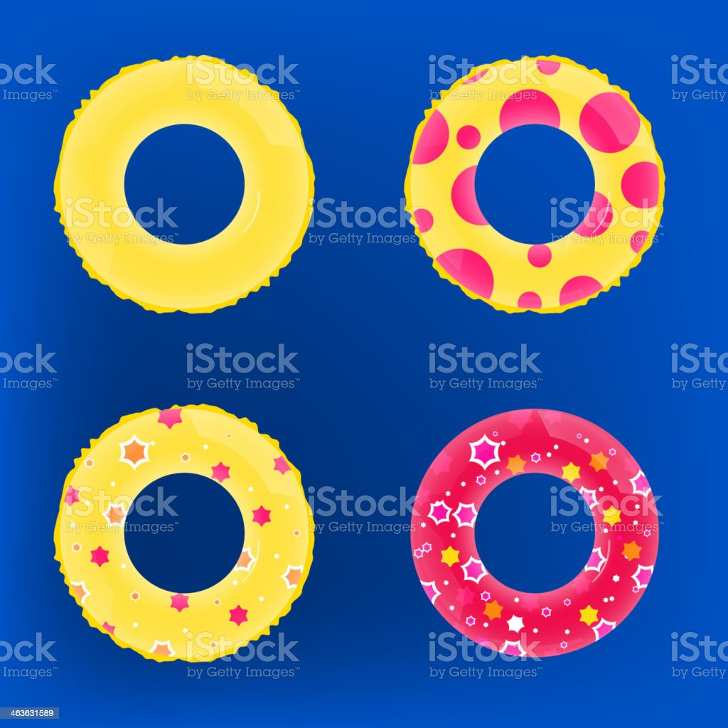 01_Inflatable circle vector art illustration