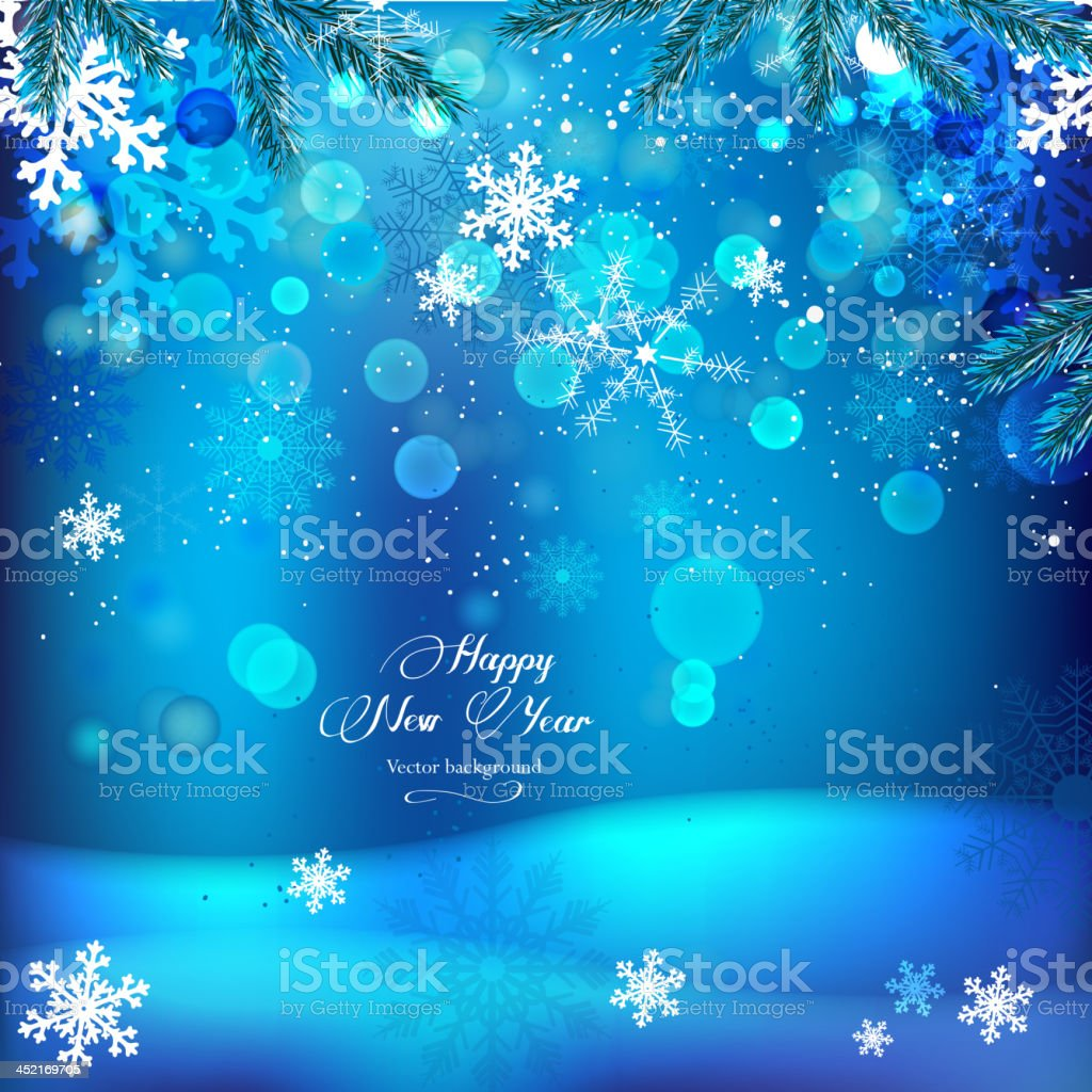 01_Snowflake_background royalty-free stock vector art