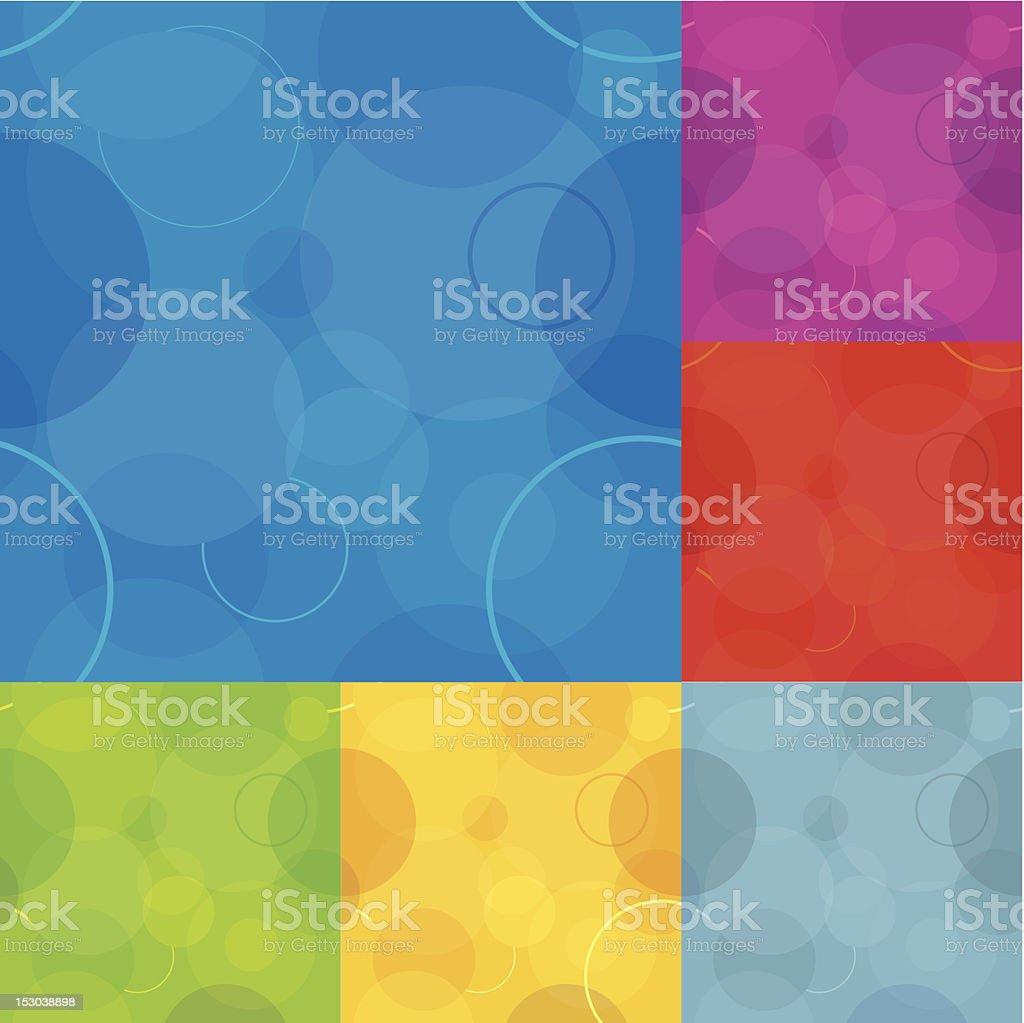 1-credit circles background royalty-free stock vector art