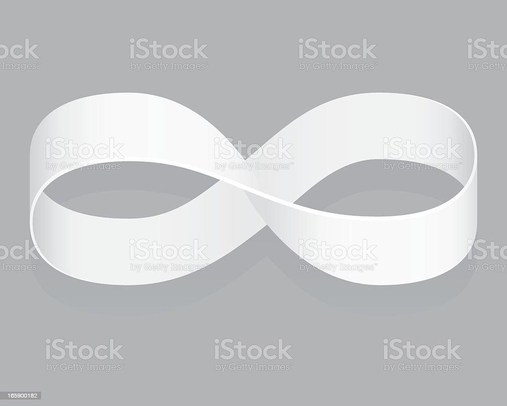 Möbius strip vector art illustration