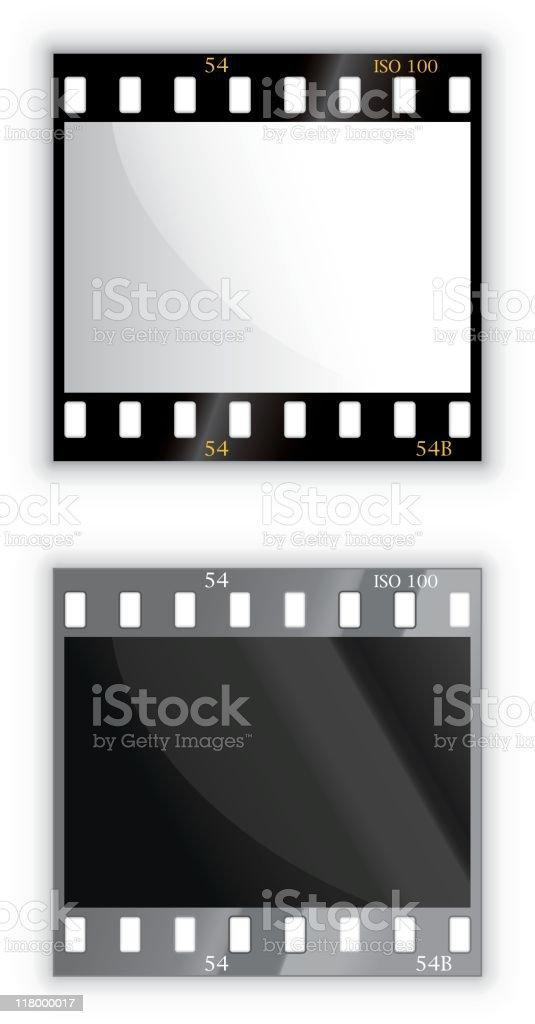 35mm film royalty-free stock vector art