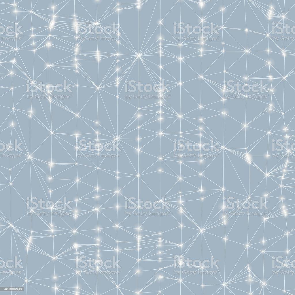 3d abstract background. Technology vector illustration. vector art illustration