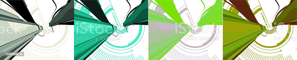 3d background royalty-free stock vector art