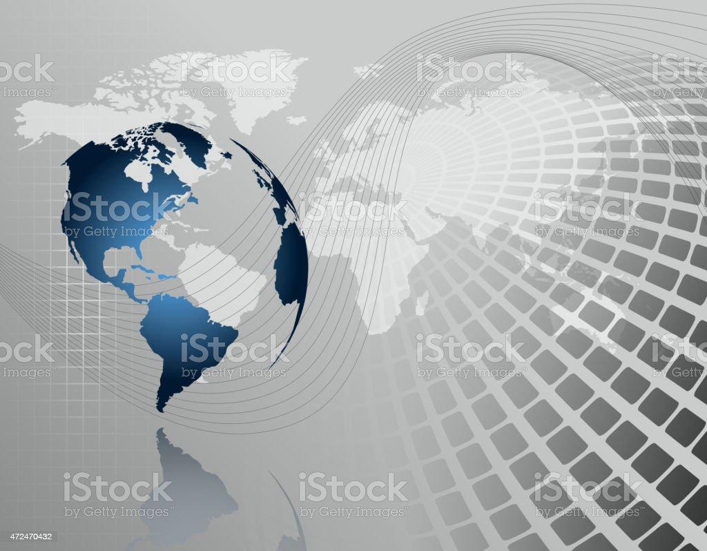 3 d Fondo abstracto de negocios illustracion libre de derechos libre de derechos