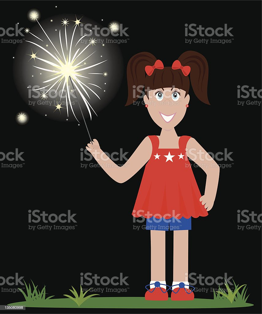 4th of July Celebration royalty-free stock vector art