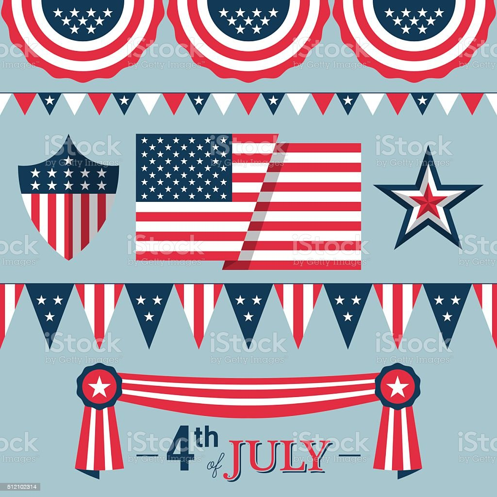 4 juli dekorationen m belideen for Decoracion estados unidos