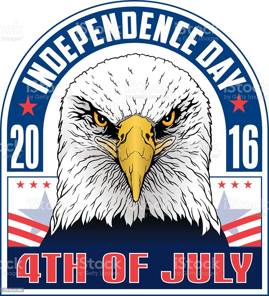 4th of July-Independence Day vector art illustration