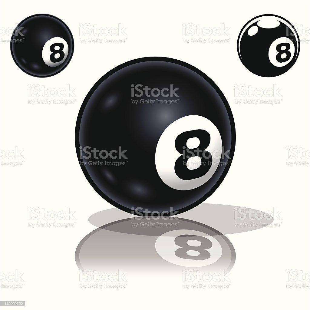 8_Ball royalty-free stock vector art