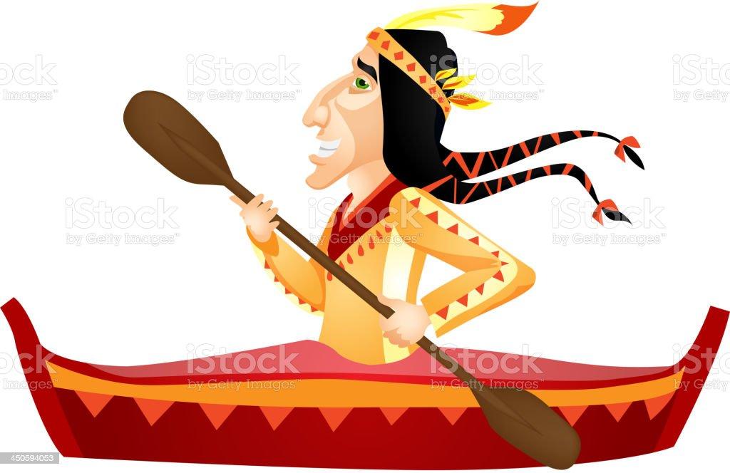 Aborigine royalty-free stock vector art