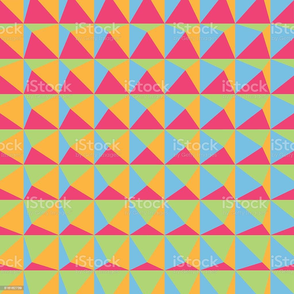 Abstract 3d geometric pattern. Polygonal background. vector art illustration