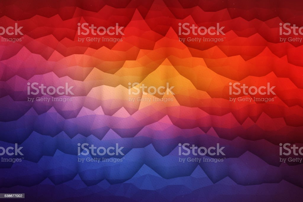 Abstract 3D Vector Geometrical Background vector art illustration