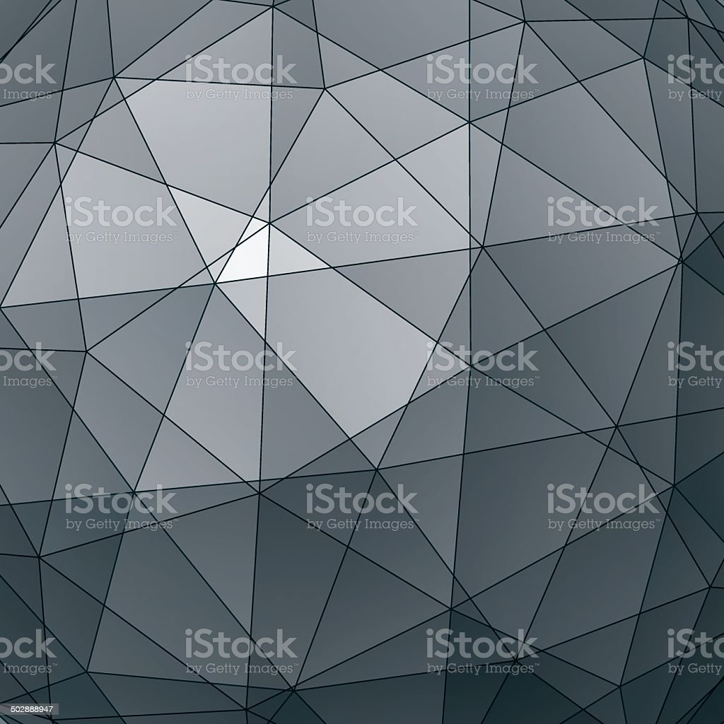 Abstract 3D vector graphic backdrop, geometric royalty-free stock vector art