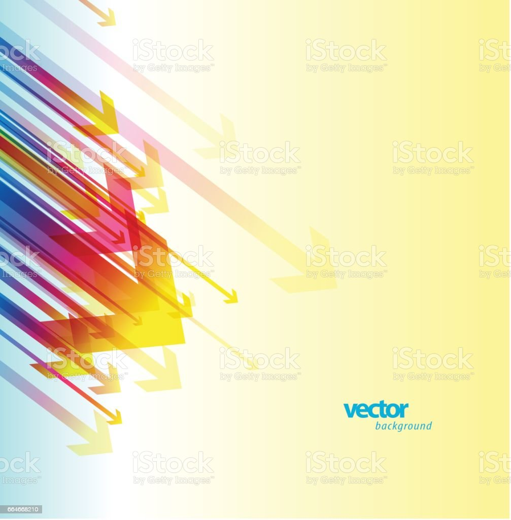 Abstract arrows background wallpaper. vector art illustration