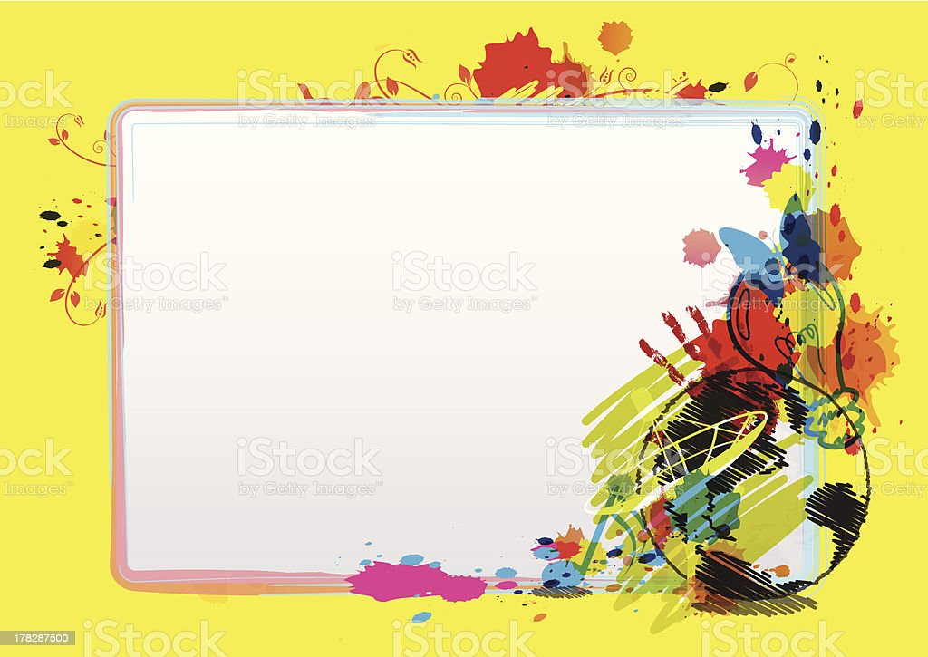 abstract art design layout royalty-free stock vector art