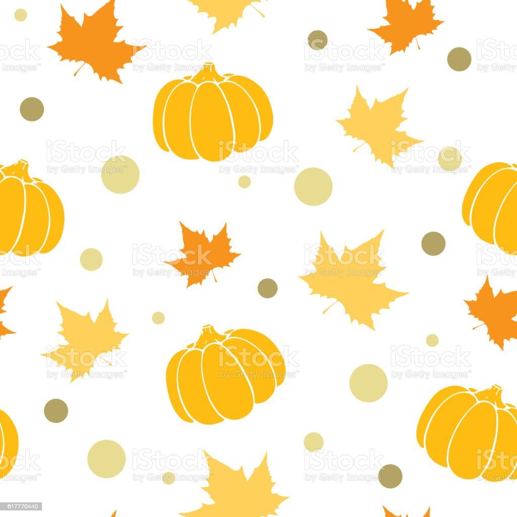 Abstract autumn background. vector art illustration