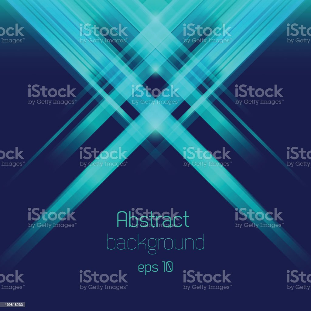 Abstract bacground with rays vector art illustration