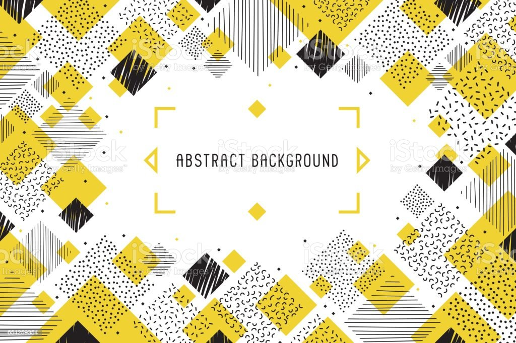 Abstract background banner vector art illustration
