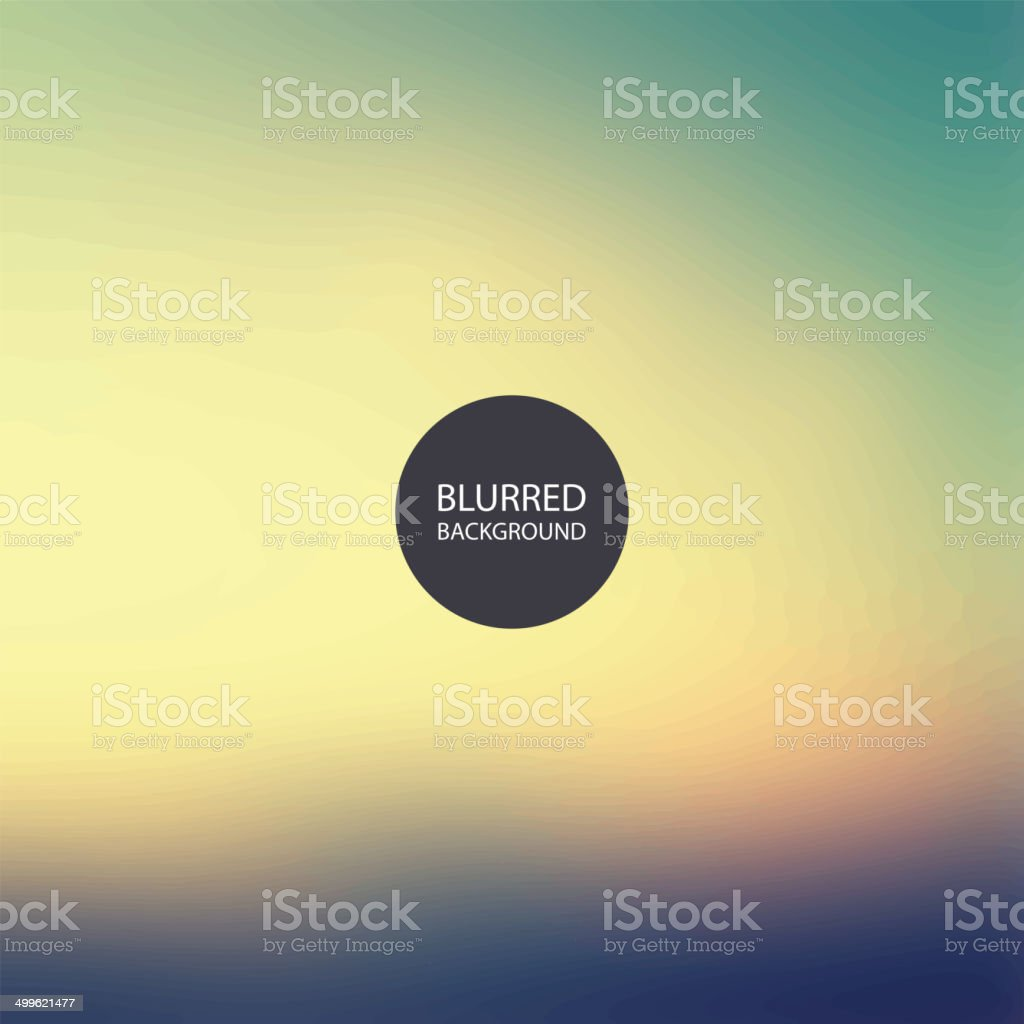 Abstract Background - Blurred Image vector art illustration
