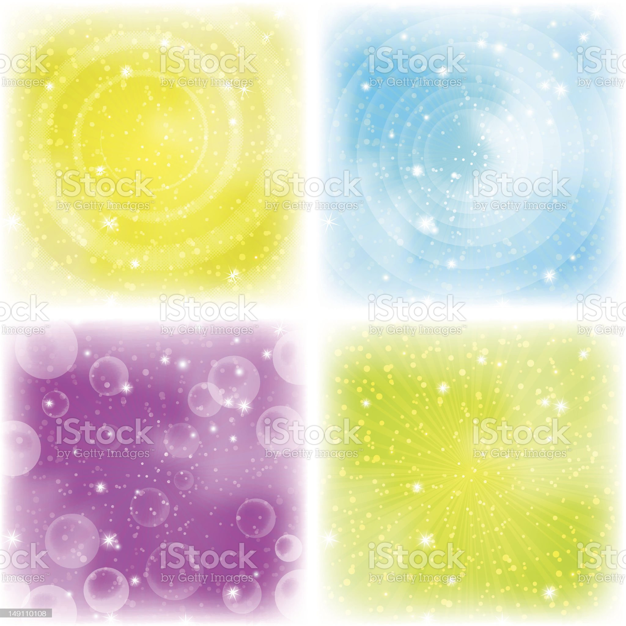 Abstract background, colorful, set royalty-free stock photo