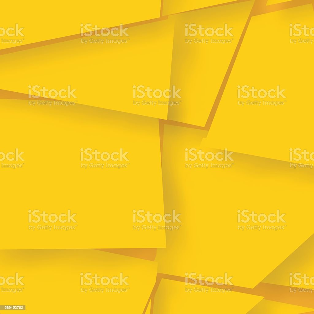 Abstract background consisting of bright yellow elements. vector art illustration