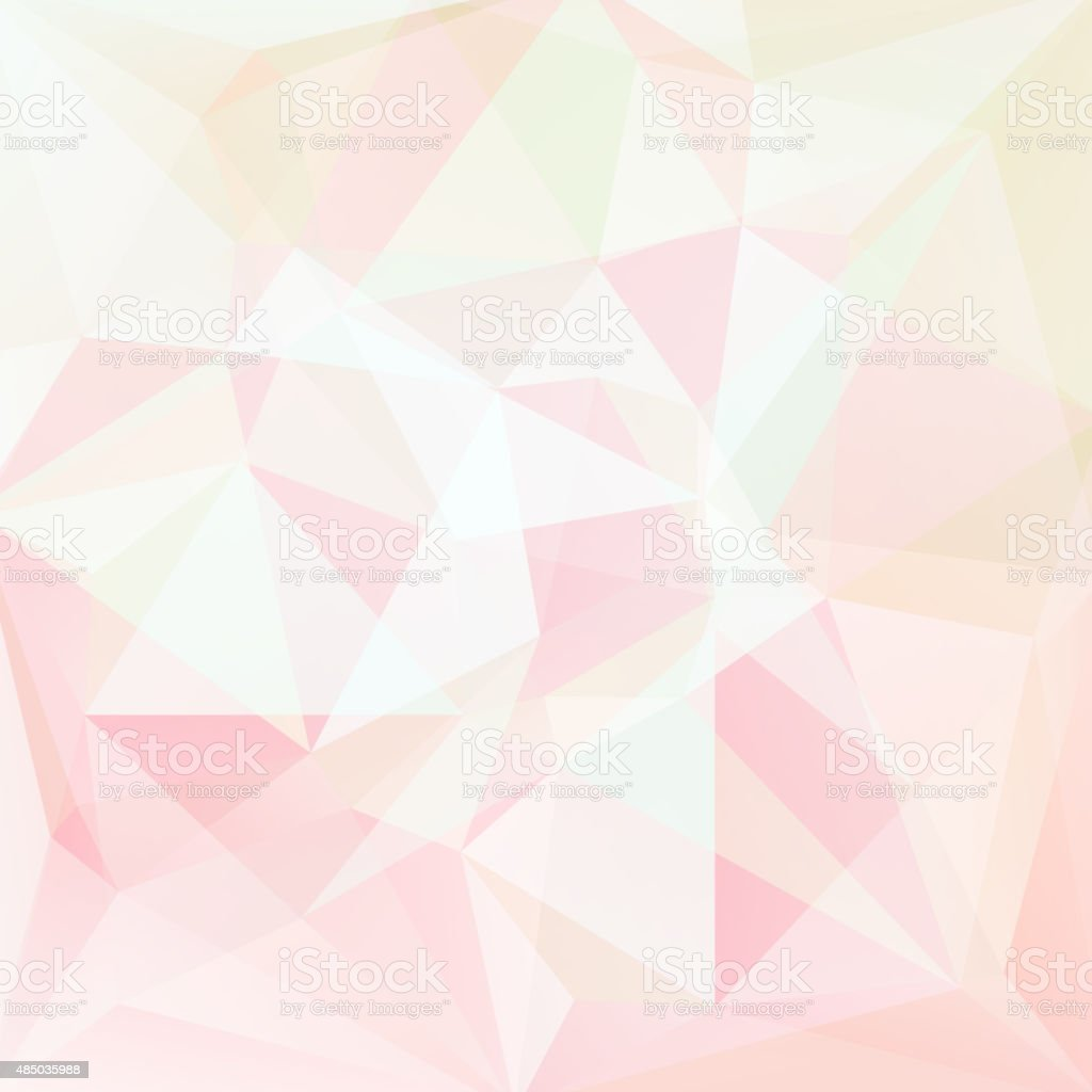 abstract background consisting of pastel triangles, vector illustration vector art illustration