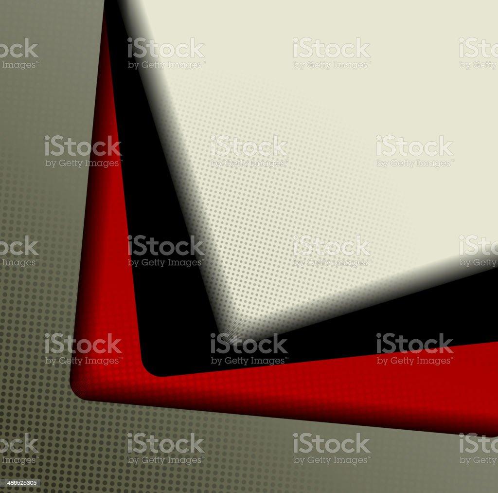 Fondo abstracto Composición de fotogramas illustracion libre de derechos libre de derechos