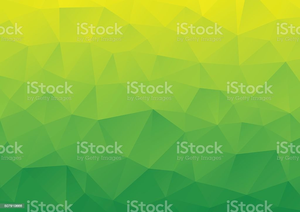 Abstract Background, Geometric, Green vector art illustration