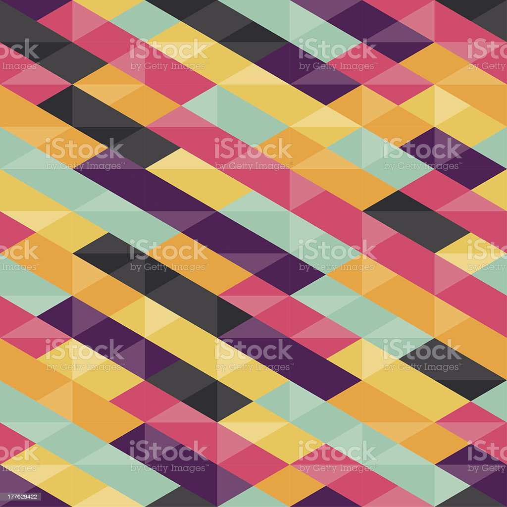 Abstract Background - Geometric Seamless Pattern royalty-free stock vector art