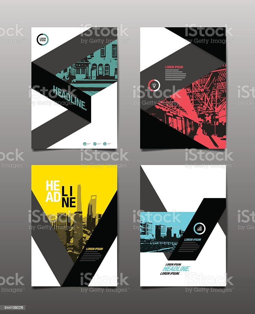 Abstract Background. Geometric vector art illustration