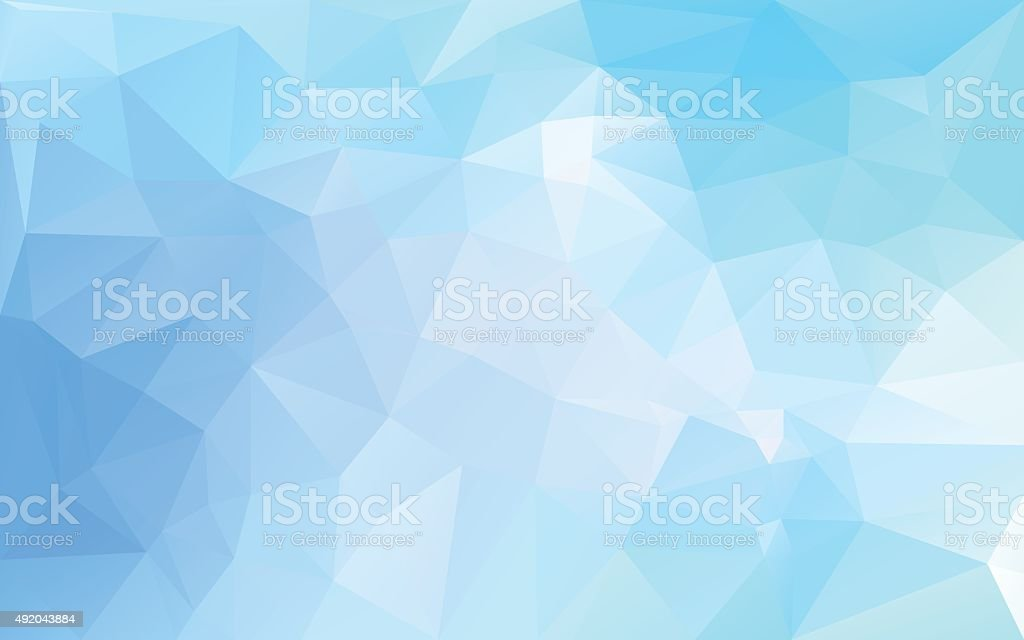 abstract background in blue tones vector art illustration