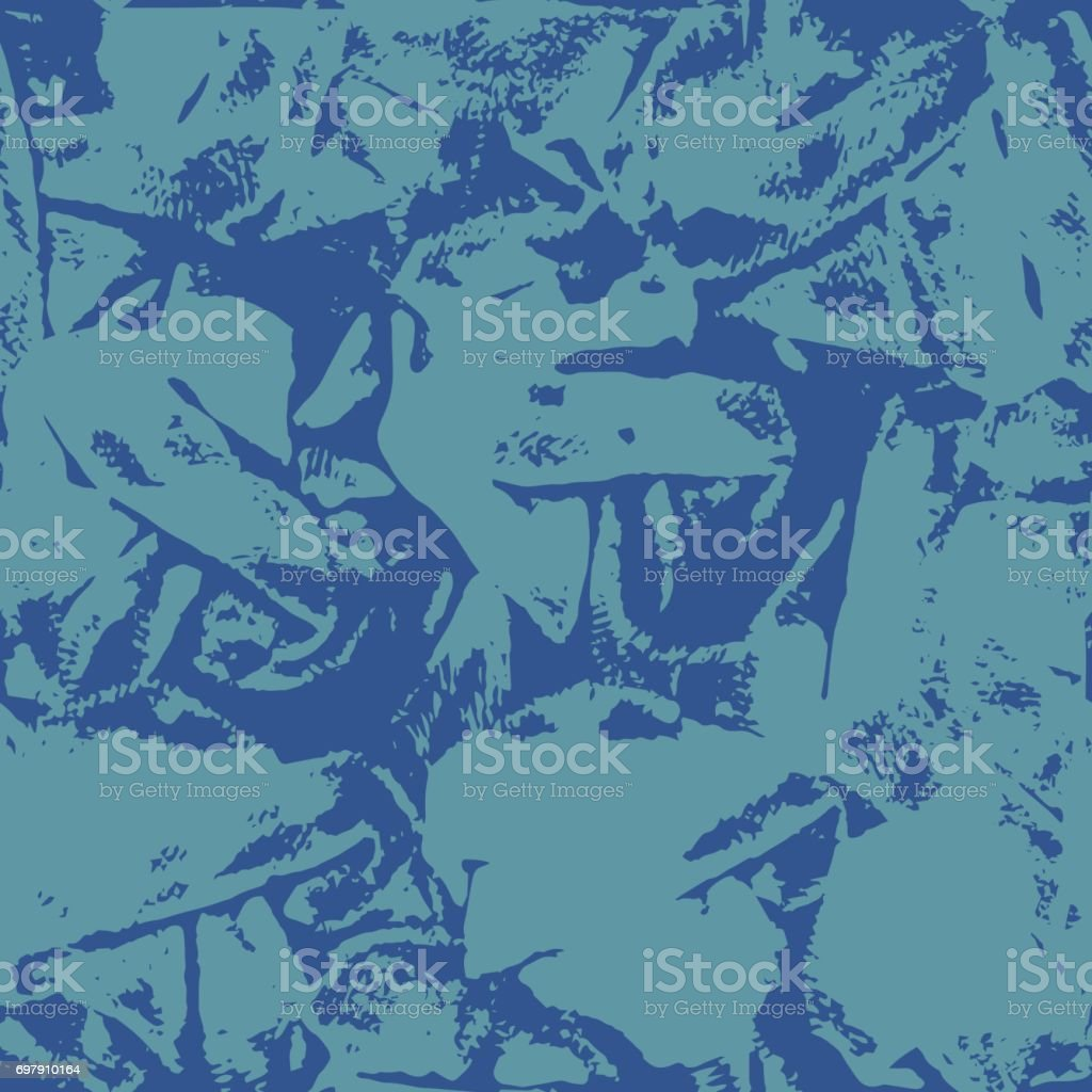 Abstract Background in Grunge Style. Ink Splashes Seamless Pattern. Hand Drawn Texture. vector art illustration