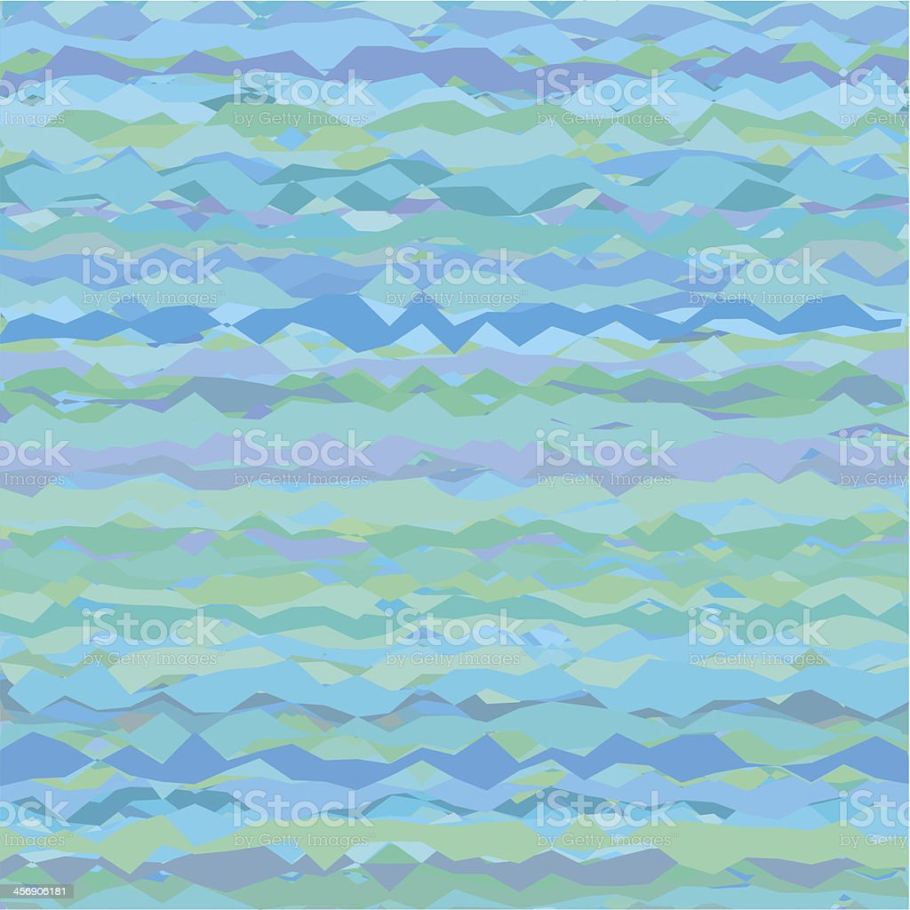 Abstract Background in Shades of Blue royalty-free stock vector art