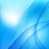 Abstract background light blue curve and wave element 003