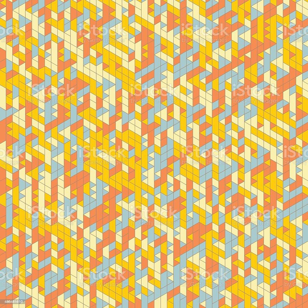 Abstract Background. Mosaic. Vector Illustration. vector art illustration