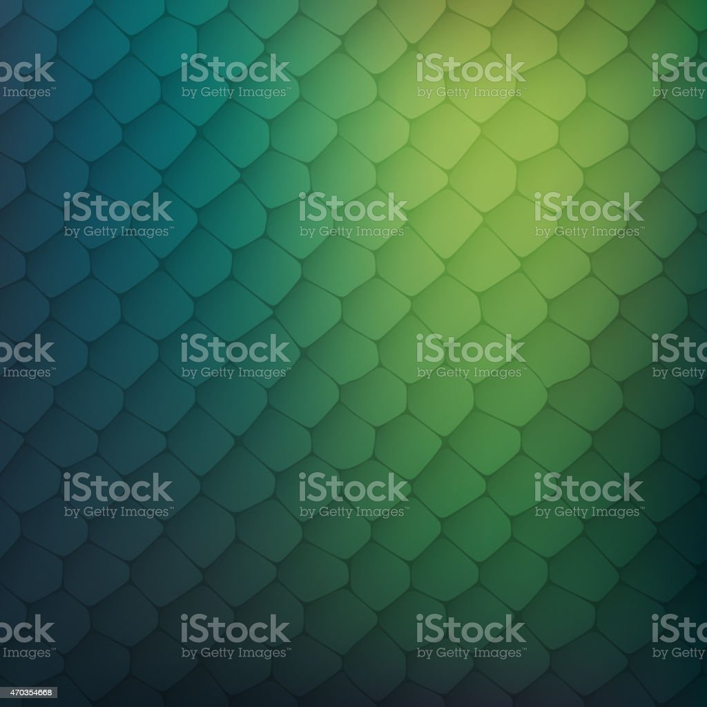 Abstract background of colored cells vector art illustration