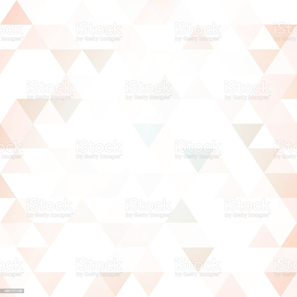 Abstract background of triangular tesselations vector art illustration