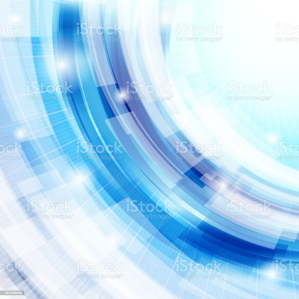 Abstract background on different shades of blue royalty-free stock vector art
